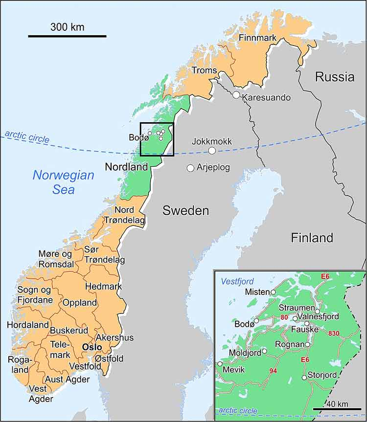 Conflicting Views On Conserving Large Carnivores And Protecting - Norway universities map