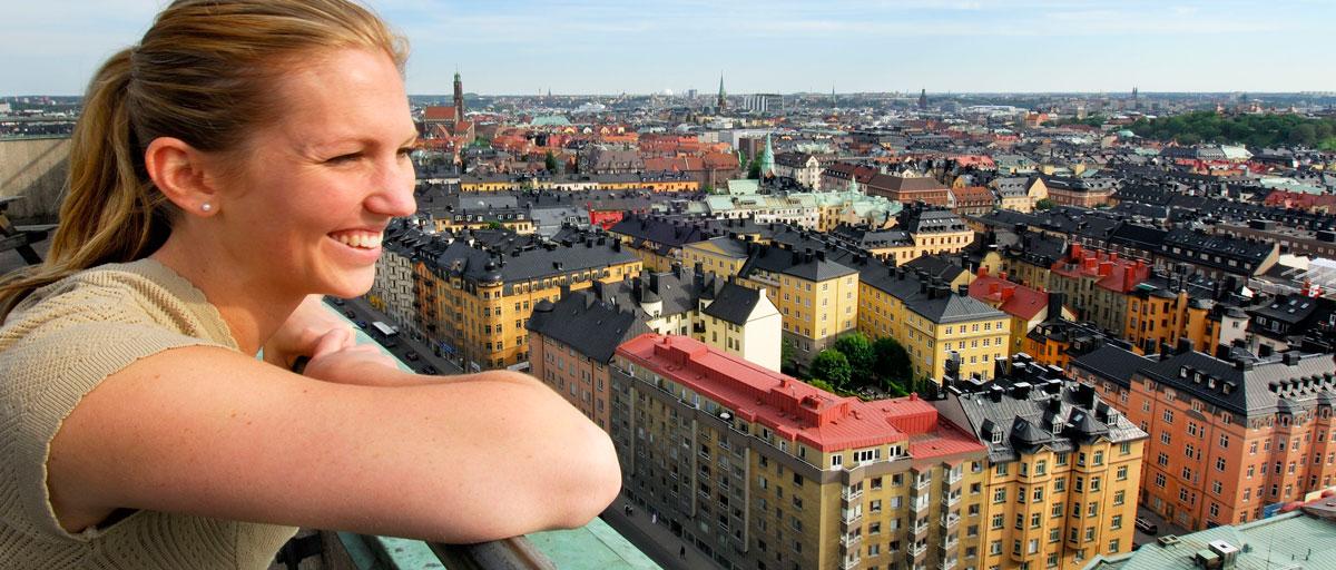 living in stockholm